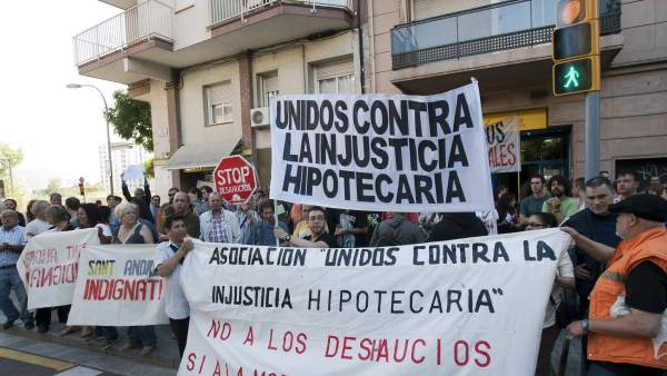 Desahucio en Barcelona