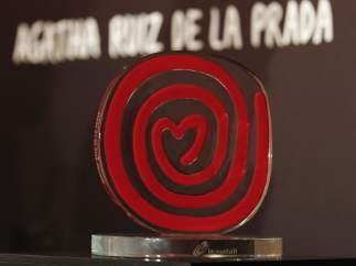 Trofeo diseñado por Ágatha Ruiz de la Prada