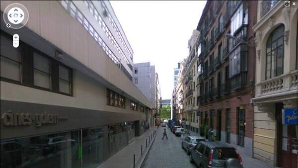 Calle Martín de los Heros