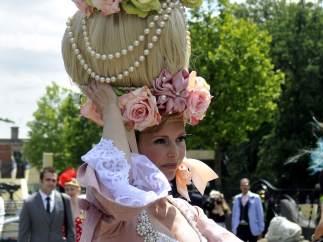 Sombreros de altura en las carreras