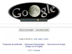 Eclipse visto por Google