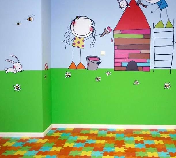 Cuando la familia crece consejos para decorar el cuarto - Habitaciones de ninos pintadas ...