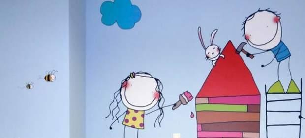 Consejos para decorar el cuarto del primer ni o que llega - Decorar paredes ninos ...