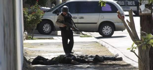 Violencia en Monterrey, México
