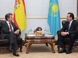 Zapatero en Kazajistán