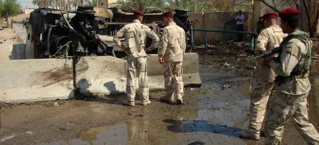 Atentado en Irak
