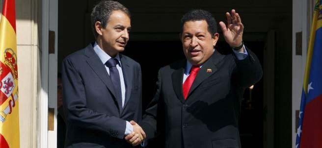 Zapatero y Chávez
