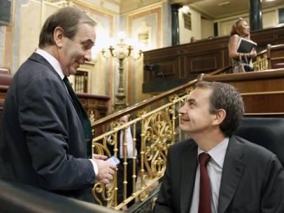 Zapatero y Alonso