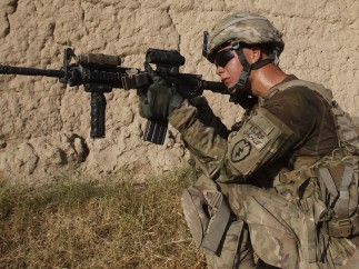 Lucha en Afganistán