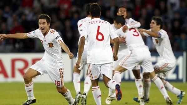 España campeona de Europa sub'21
