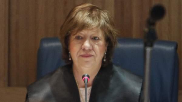 La juez Ángela Murillo