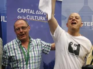 Juan Karlos Izagirre y Odón Elorza