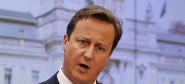 Cameron en rueda de prensa