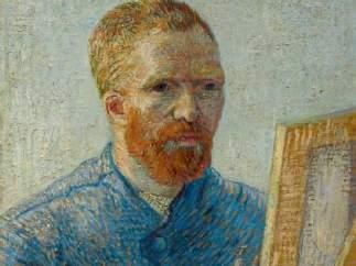 'Autorretrato como pintor', de Vincent van Gogh (París, 1888).
