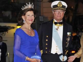 Gustavo y Silvia de Suecia