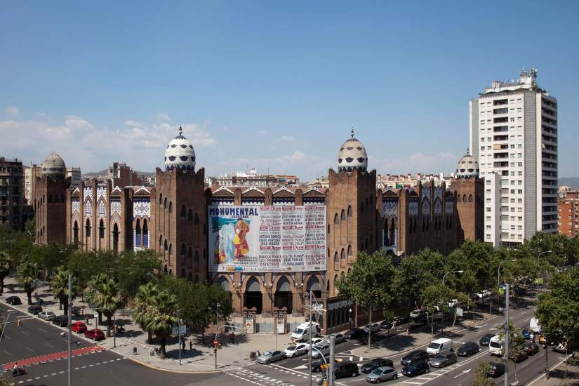 Sant andreu acogi la cuarta plaza de toros de barcelona - Barrio de sant andreu ...
