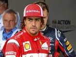 Alonso, tras la clasificación del GP de Gran Bretaña