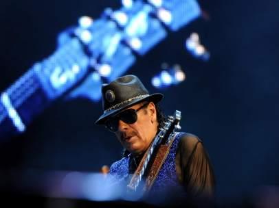 Carlos Santana en Locarno
