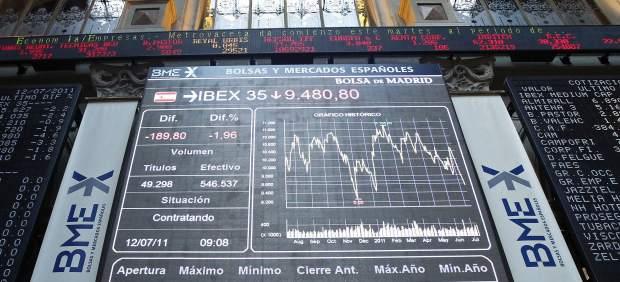 Tensión en los mercados financieros