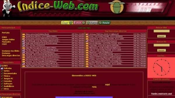 Indice-web