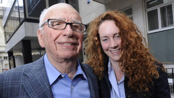 Rupert Murdoch y Rebekah Brooks