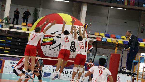 La selección de voleibol