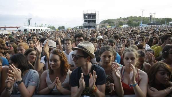 Público del festival de Benicàssim