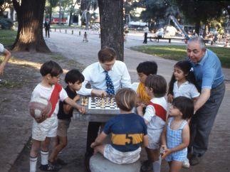 Enseñando a los niños, en Buenos Aires