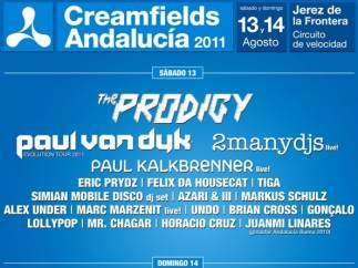 Creamfields Andalucía 2011