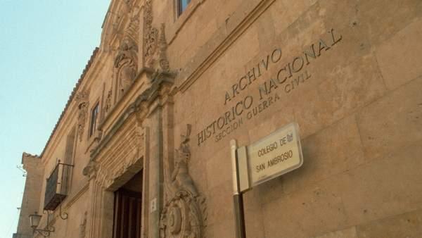 Archivo histórico de Salamanca