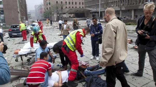 Explosion En Noruega  Fotos