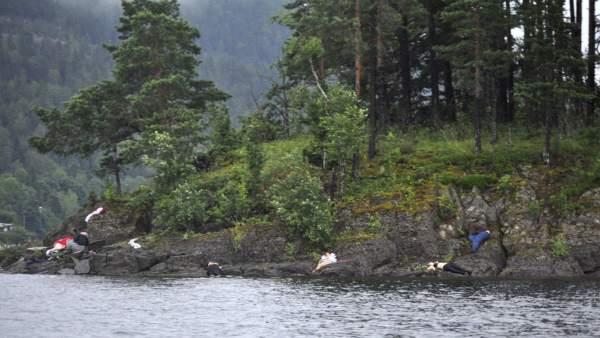 Tiroteo en Utøya
