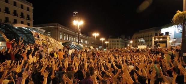 La Puerta del Sol, a medianoche
