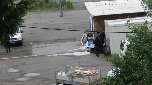 Operación policial en Oslo