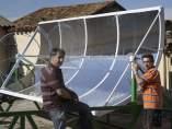 Concentrador solar parabólico