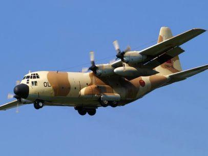 Un Hércules C-130