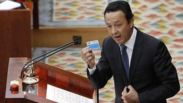 El portavoz popular en la Asamblea de Madrid, Íñigo Henríquez de Luna.