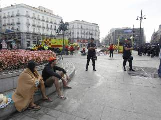 Sin detenidos ni heridos