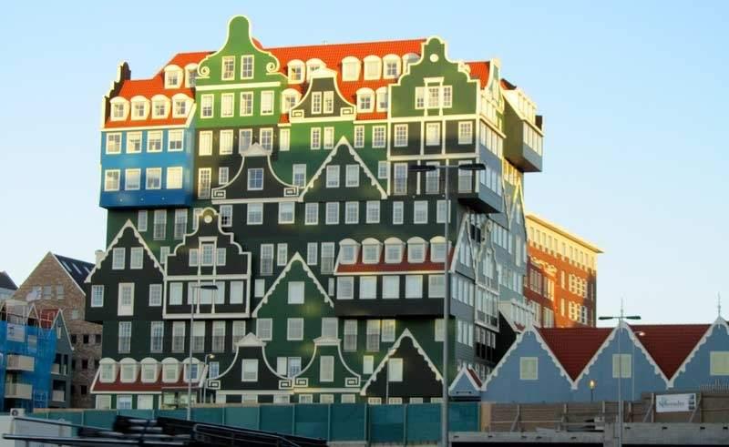 Zaanstad de paseo por los molinos de holanda for Arquitectura holandesa
