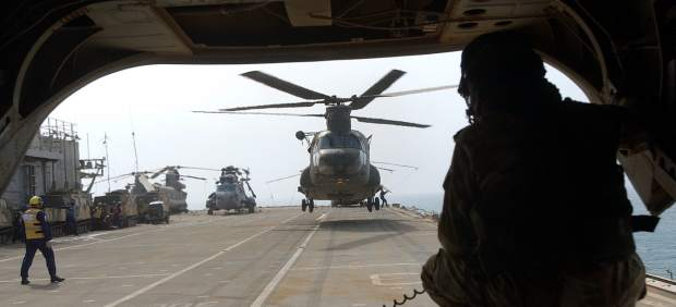Helicóptero 'Chinook'