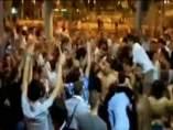 Trifulca al salir de la discoteca en Lloret de Mar.
