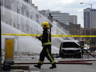Bomberos en Croydon