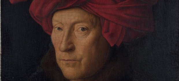 'Retrato de un hombre con turbante'