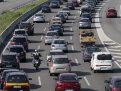 217.000 vehículos llegan a Barcelona en la operación retorno de Sant Joan, un 53% del total