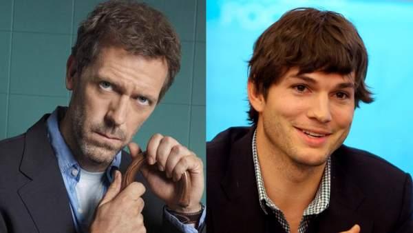 Hugh Laurie y Ashton Kutcher