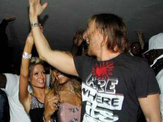 Paris Hilton y David Guetta