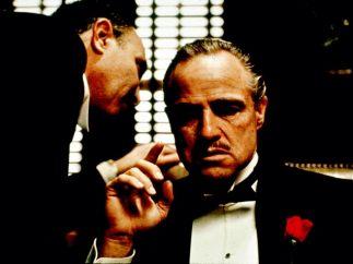 'Marlon Brando in 'The Godfather',1971'