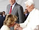 Aguirre besa el anillo del santo prelado de Roma