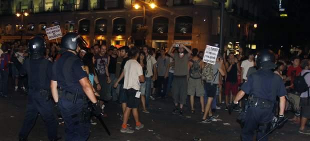 Disturbios en Madrid