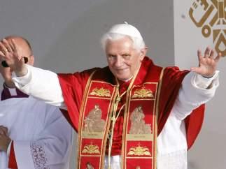 Benedicto XVI, en Cibeles